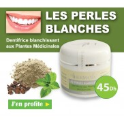 Les perles blanches